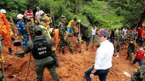 Sạt lở đất tại Colombia, hàng chục người thương vong