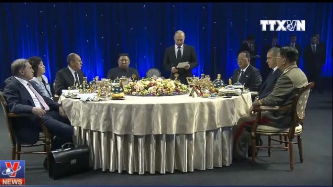 Hội nghị Thượng đỉnh Nga - Triều kết thúc, không có tuyên bố chung