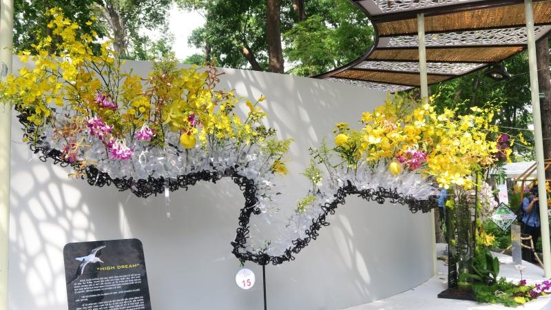 Cùng ngắm các tác phẩm tại  Festival hoa lan 2019