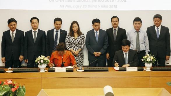 Tăng cường hợp tác quảng bá hình ảnh Thủ đô Hà Nội trên kênh CNN