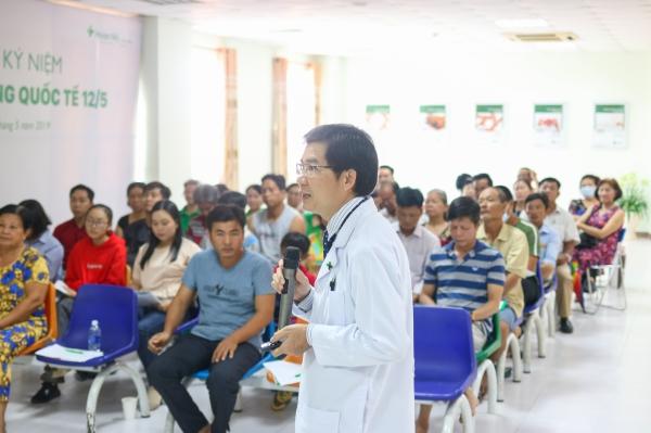 Bệnh viện Hoàn Mỹ Cửu Long tổ chức sinh hoạt câu lạc bộ 'Gan khỏe'