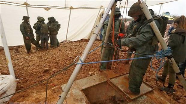 Israel phá hủy đường hầm xuyên biên giới 'trọng yếu' của Hezbollah