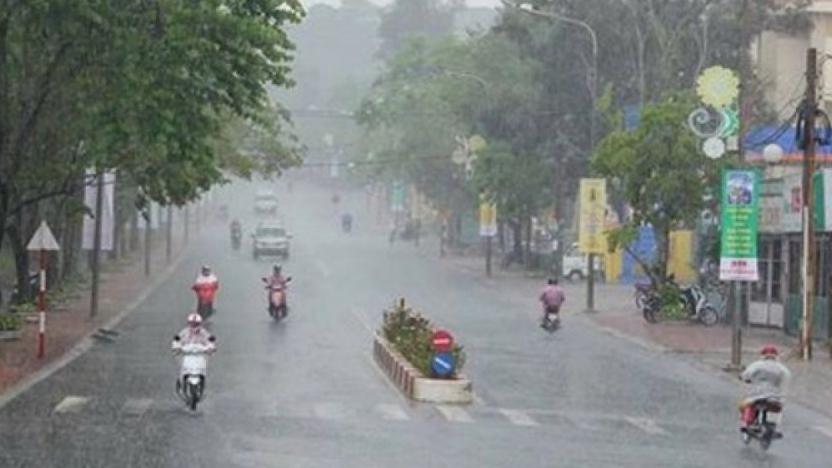 Dự báo thời tiết: Bắc Bộ, mưa dông diện rộng kéo dài đến ngày 2/6