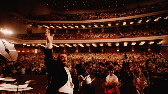 Phim tài liệu về Pavarotti: 'Vị thánh trong thế giới opera'