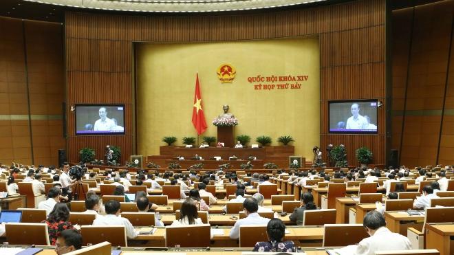 Kỳ họp thứ 7, Quốc hội khóa XIV: Phát triển thư...