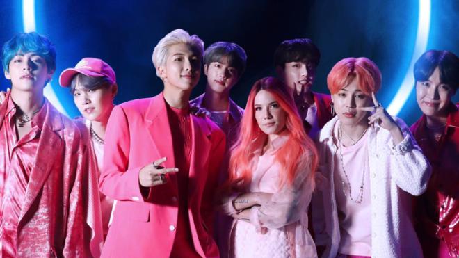 BTS liên tiếp đạt chứng nhận đĩa Vàng tại Úc với 'Boy With Luv'