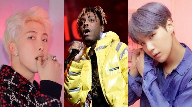 RM và Suga của BTS lần đầu bắt tay với rapper Mỹ Juice WRLD trong ca khúc mới