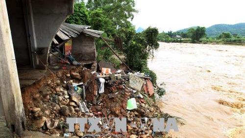 Mưa lũ gây nhiều thiệt hại ở Lào Cai