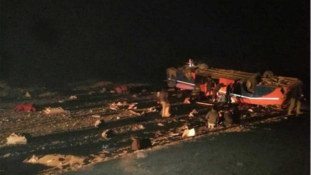 Tai nạn xe buýt thảm khốc tại Chile, hàng chục người thương vong