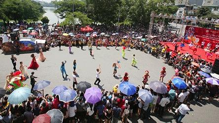 Nhiều hoạt động văn hoá kỷ niệm 20 năm Hà Nội đón nhận danh hiệu 'Thành phố Vì hòa bình'