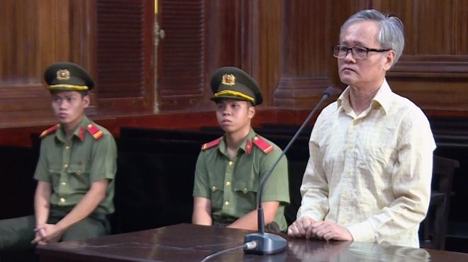 Tuyên phạt bị cáo Trần Công Khải 8 năm tù về tội 'Hoạt động nhằm lật đổ chính quyền nhân dân'
