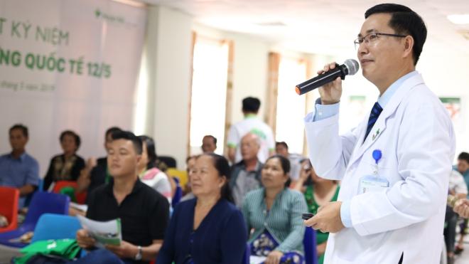 Bệnh viện Hoàn Mỹ Cửu Long tổ chức sinh hoạt Câu lạc bộ bệnh nhân Đái tháo đường