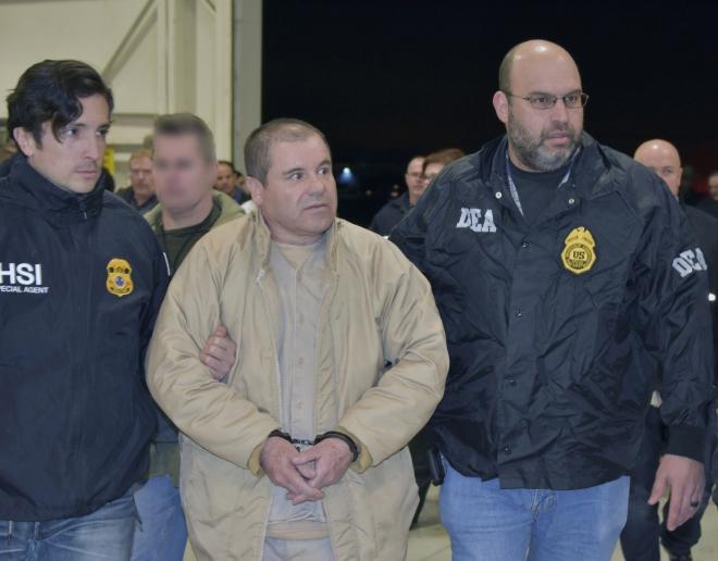 Trùm ma túy El Chapo, Trùm ma túy El Chapo bị phạt tù chung thân