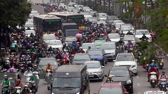 6 tháng đầu năm 2019: tình trạng ùn tắc giao thông tăng mạnh