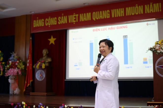 Bệnh viện Hoàn Mỹ Cửu Long tổ chức chương trình tư vấn sức khỏe cho Công ty Điện lực Hậu Giang