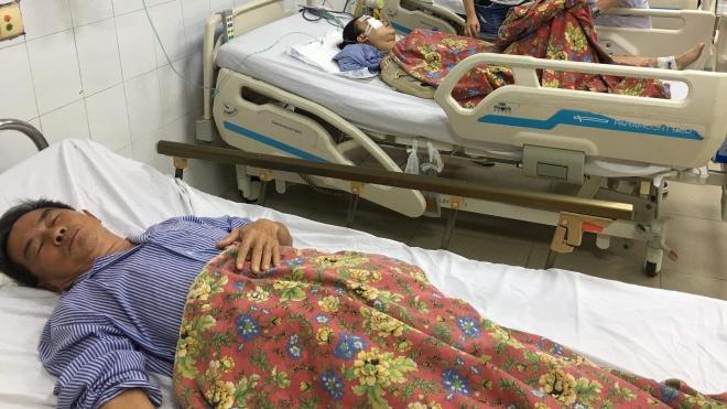 Vụ xe khách tông hàng loạt xe máy tại Quảng Ninh: 2 nạn nhân tử vong