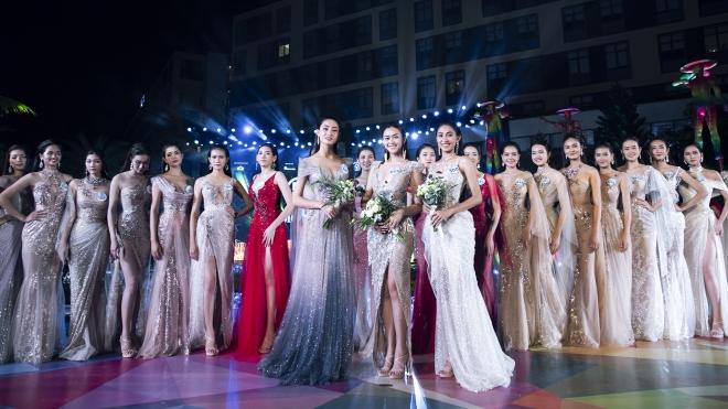 Miss World Việt Nam: Top Model tự tin sải bước bên dàn Hoa hậu, Á hậu
