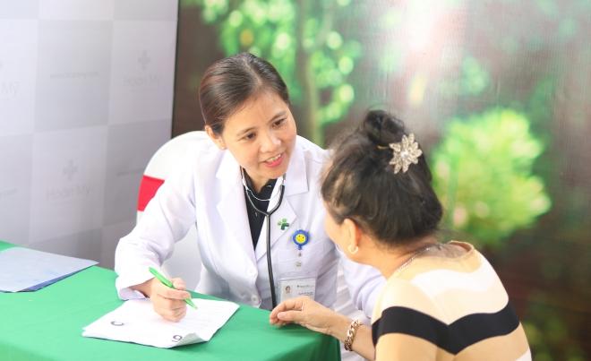 Chương trình tư vấn sức khỏe cho Hội liên hiệp Phụ nữ Phường An Lạc