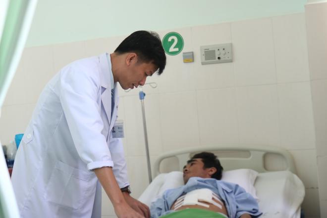 Cứu sống bệnh nhân vỡ lách nguy kịch do tai nạn lao động