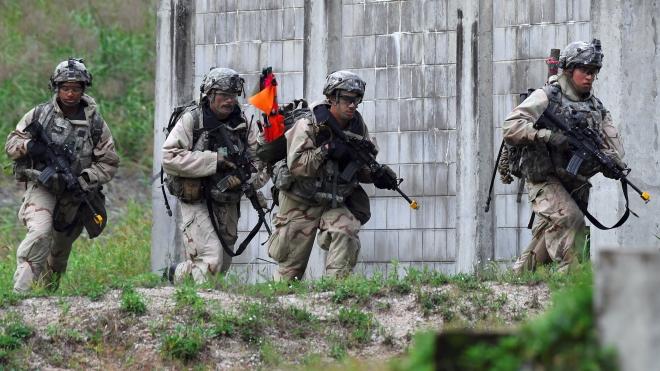 Hàn Quốc và Mỹ bắt đầu tập trận chung