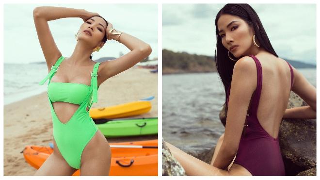 Á hậu Hoàng Thùy tung bộ ảnh bikini, chuẩn bị 'chinh chiến' Miss Universe 2019