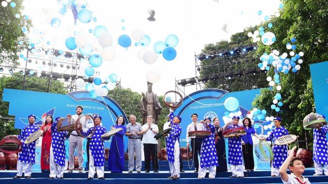 Hà Nội, vị thế 'Thành phố vì hòa bình'