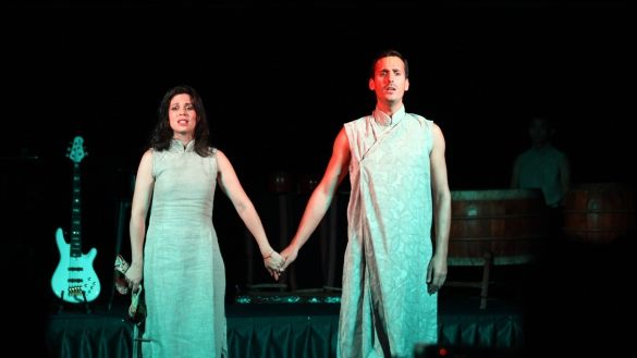Vở nhạc kịch 'Kim Vân Kiều': Khi Thúy Kiều hát tình ca Pháp