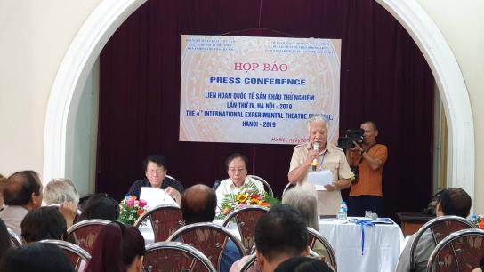 Tám quốc gia dự Liên hoan quốc tế Sân khấu thử nghiệm lần thứ IV tại Hà Nội