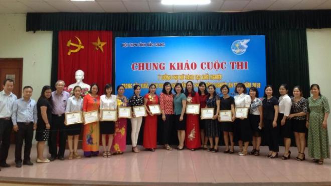 Sôi nổi hoạt động 'Ngày hội phụ nữ sáng tạo khởi nghiệp' tại Bắc Giang