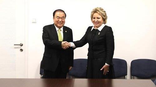 Hàn Quốc yêu cầu Nga thúc đẩy tiến trình phi hạt nhân hóa Bán đảo Triều Tiên