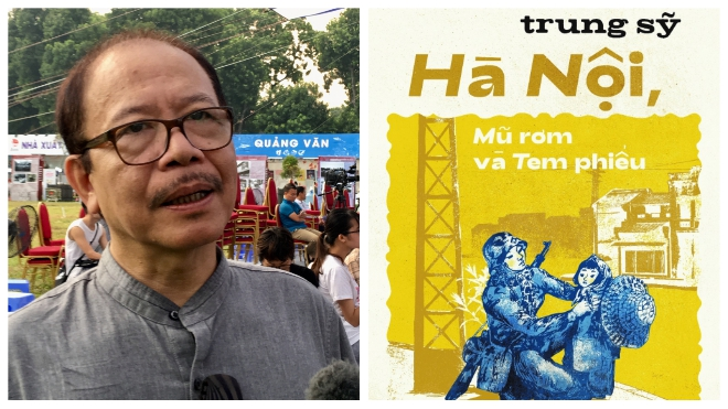 Sách 'Hà Nội, mũ rơm và tem phiếu': 'Bảo tàng' về một thời Hà Nội chưa xa