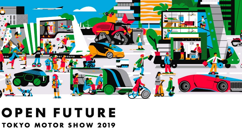 Tokyo Motor Show cũng 'đua show' như Vietnam Motor Show