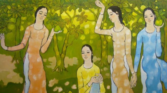 Hành trình của những họa sĩ 'triệu đô' (Kỳ 1): Thế giới 'nữ phái' của Nguyễn Trung