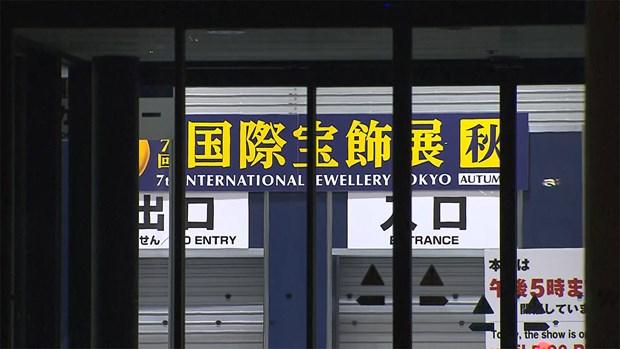 Mất cắp viên kim cương 1,8 triệu USD trong buổi triển lãm trang sức tại Nhật Bản