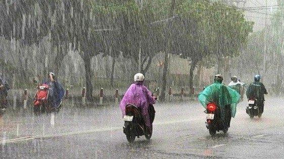 Dự báo thời tiết: Các tỉnh từ Thanh Hóa đến Quảng Ngãi mưa rào và dông