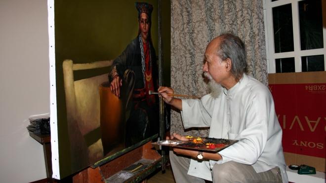Hành trình của những họa sĩ 'triệu đô' (Kỳ 2): Bậc thầy tân hiện thực Đỗ Quang Em
