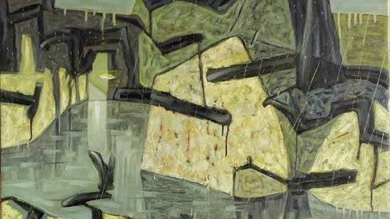 Triển lãm 'Mây mưa' bày 50 tranh sơn dầu của 5 họa sĩ
