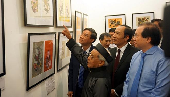 Nghệ nhân Nguyễn Đăng Chế: Không muốn rời làng quá 2 ngày vì… tranh Đông Hồ
