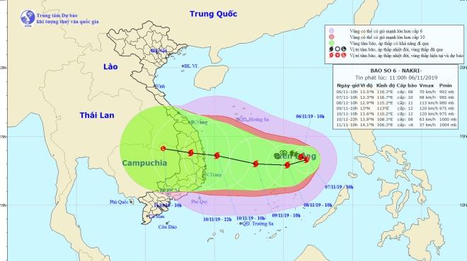 Bão số 6: Gấp rút triển khai ứng phó với bão trên các đảo của Trường Sa