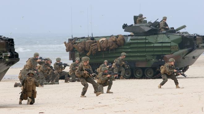 NATO tổ chức tập trận tại khu vực Baltic
