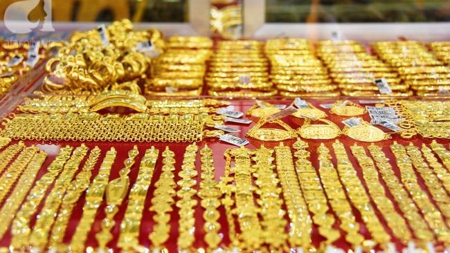 Hôm nay, giá vàng trong nước tăng nhẹ