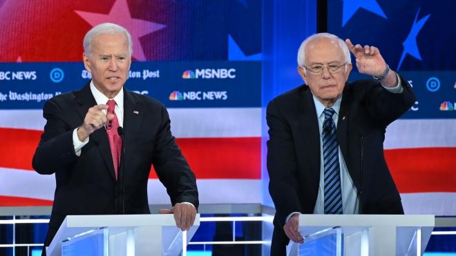 Bầu cử Mỹ 2020: Cựu Phó Tổng thống J.Biden chào đón đối thủ Michael Bloomberg