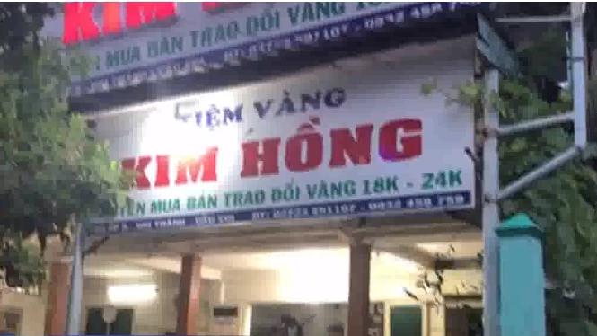 Cướp tiệm vàng giữa ban ngày tại Long An