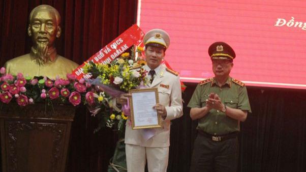 Bộ trưởng Bộ Công an bổ nhiệm Giám đốc và Phó Giám đốc Công an tỉnh Đồng Nai