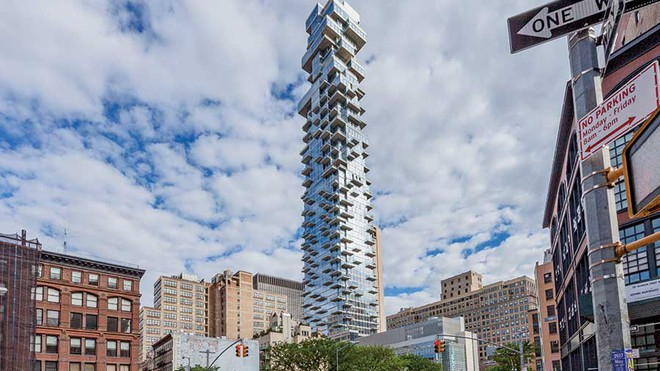 Thăm quan tòa nhà hình thù kỳ dị nổi tiếng ở New York