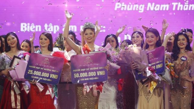 Trao giải Cuộc thi 'Người đẹp xứ Mường' năm 2019