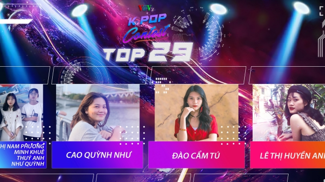 29 tiết mục xuất sắc lọt vào Bán kết cuộc thi VOV's Kpop Contest 2019