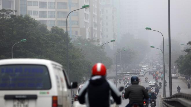 Nguyên nhân khiến không khí Hà Nội và vùng lân cận ô nhiễm bụi mịn suốt nhiều ngày