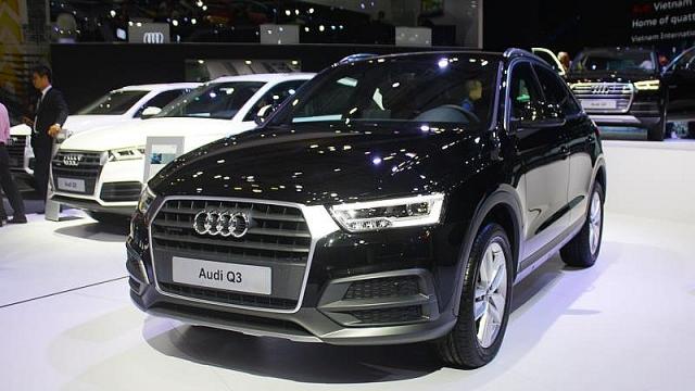 Audi triệu hồi Q3 tại Việt Nam để cập nhật phần mềm