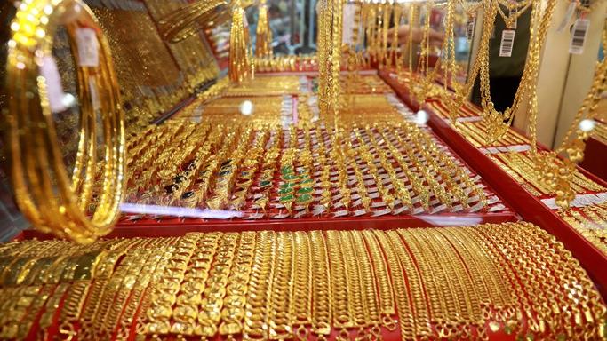 Giá vàng trong nước tăng 50.000 đồng/lượng